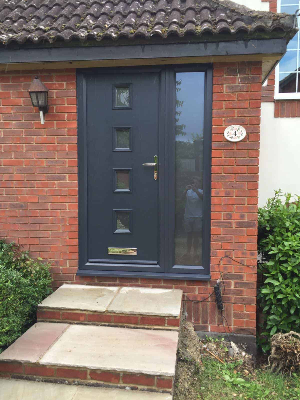 Composite door gallery in hampshire uk buildmydoor for Doors with panels