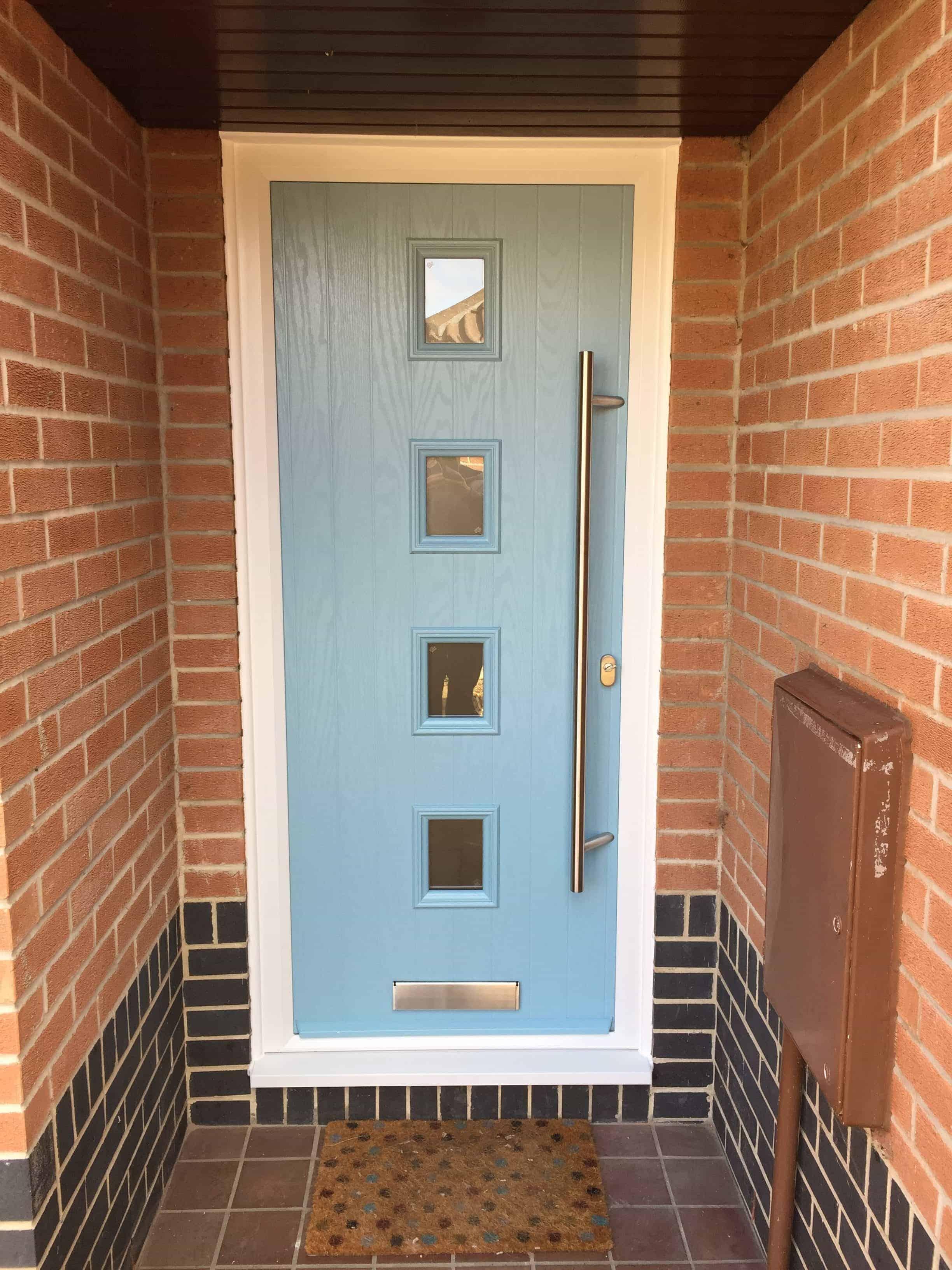 Duck Egg Blue Composite Door Buildmydoor