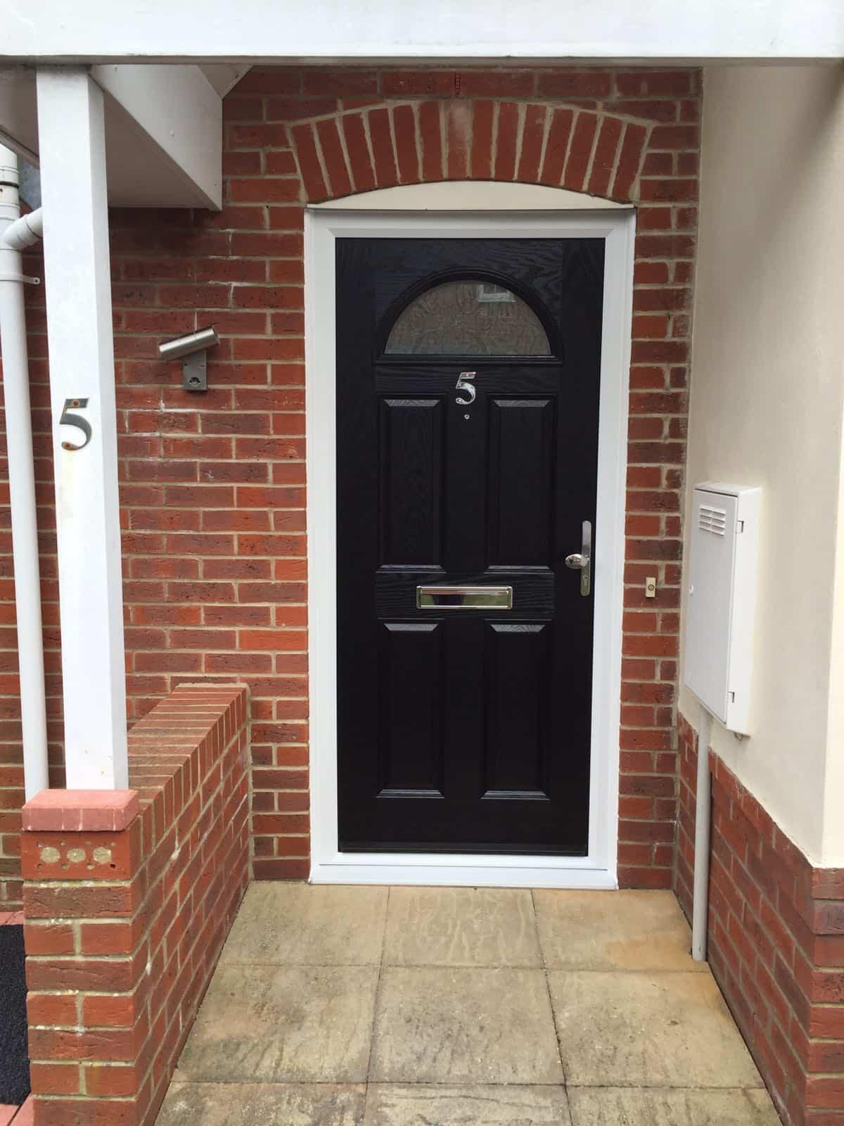 Black Composite Doors Buildmydoor