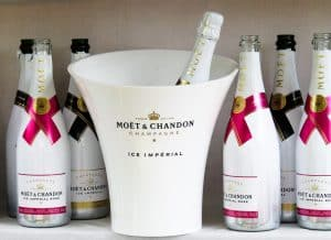 win a bottle of moet champagne
