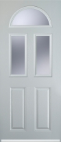 2 panel 2 square 1 arch composite door