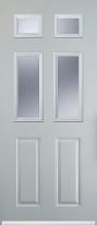 2 panel 4 square composite door