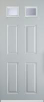 4 panel 2 square composite door
