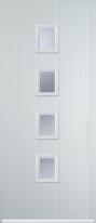 4 square composite door