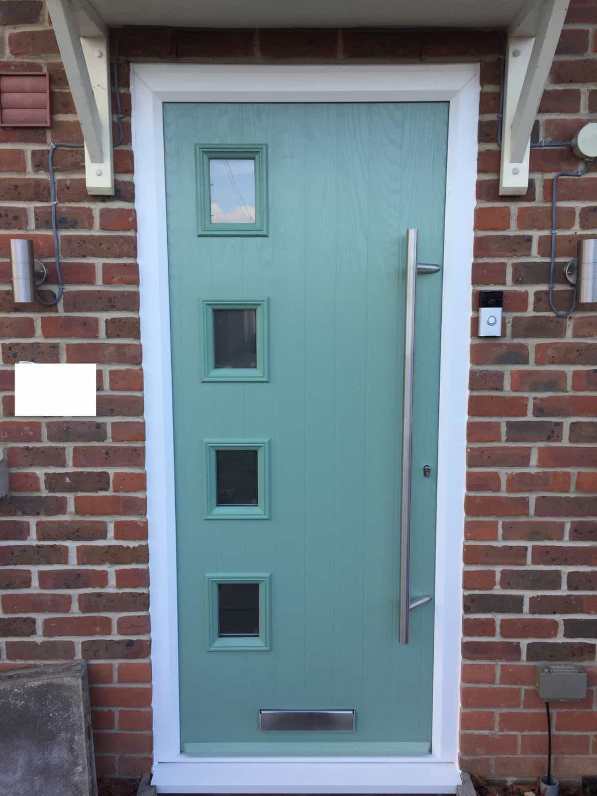 Composite door fitted in eastleigh by buildmydoor for Exterior doors fitted