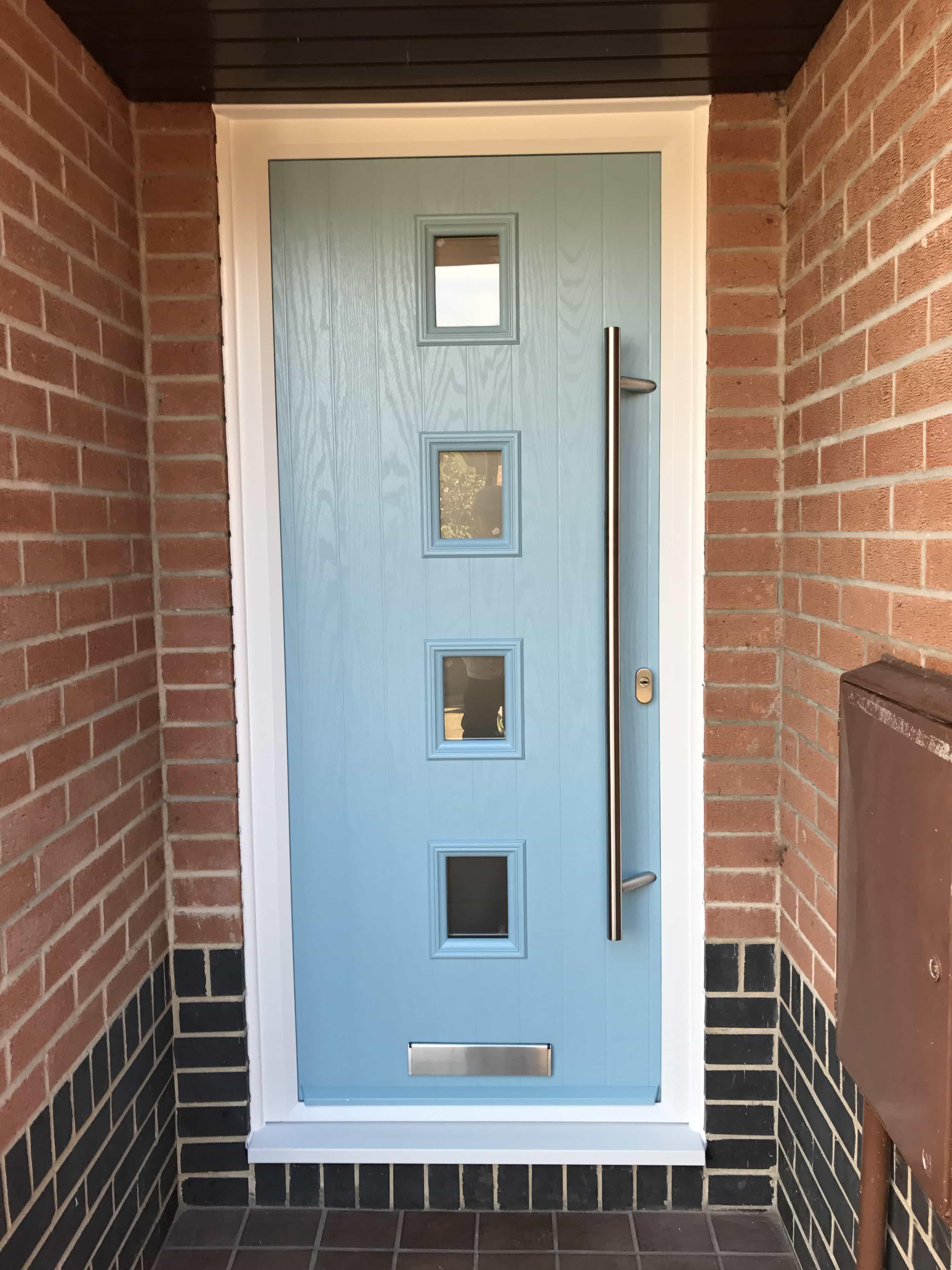 Duck Egg Blue Composite Doors