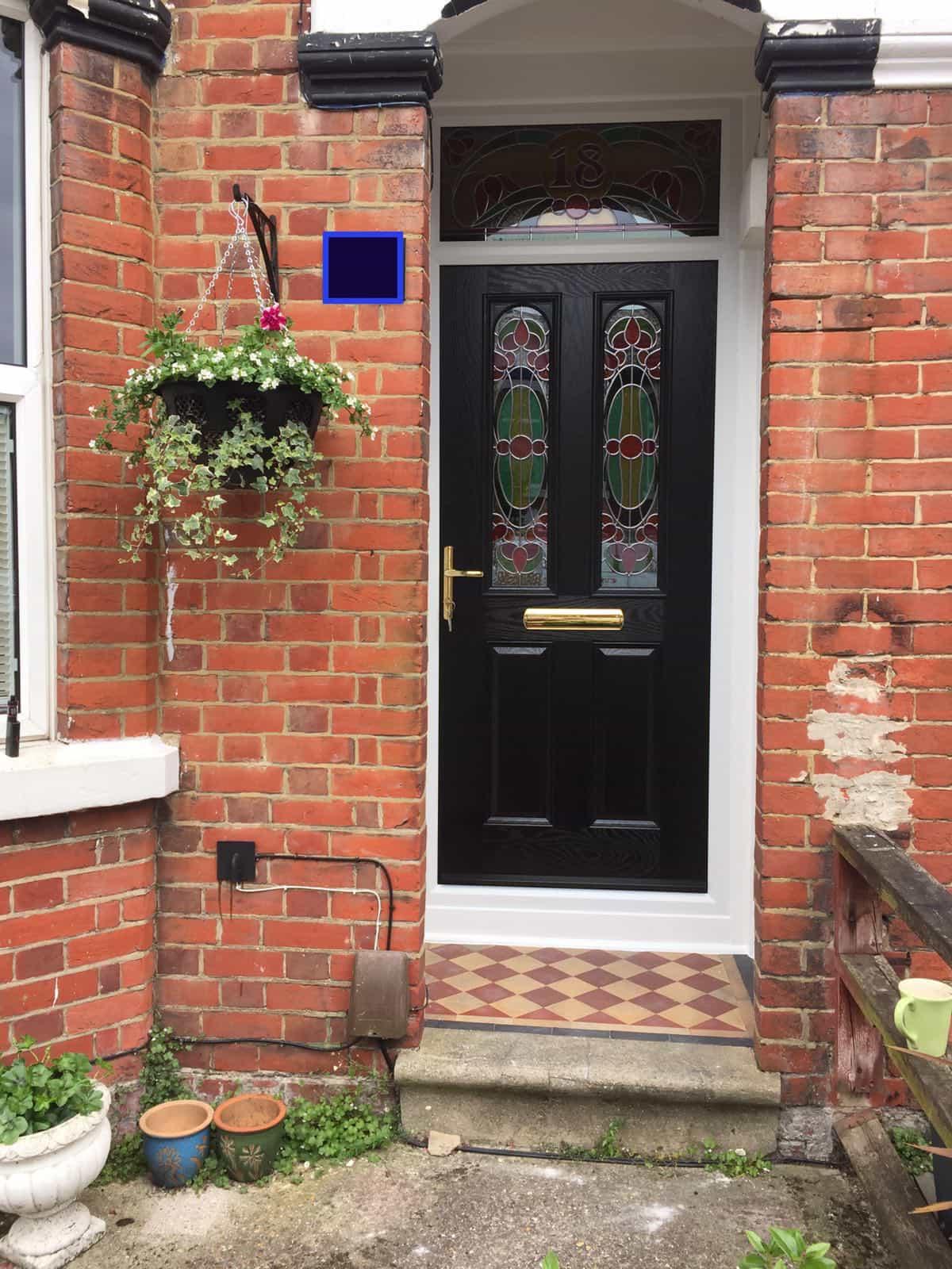 Black Composite Doors | Black Front Door - Buildmydoor