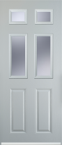 2 panel 4 square composite door