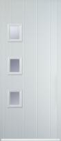 3 square composite door
