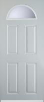 4 panel 1 arch composite door