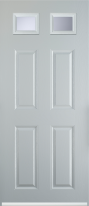 4 panel 2 square composite door