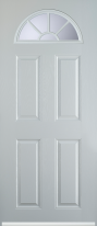 4 panel sunburst composite door