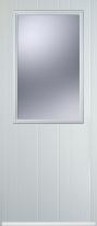 cottage half glaze composite door