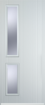 twin side composite door
