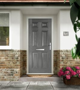 Grey Composite Doors Fareham