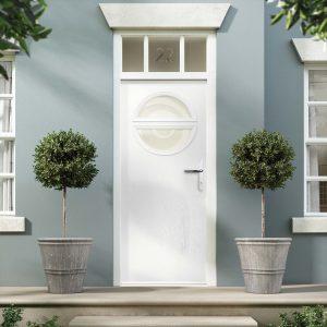 White Composite Doors Fareham