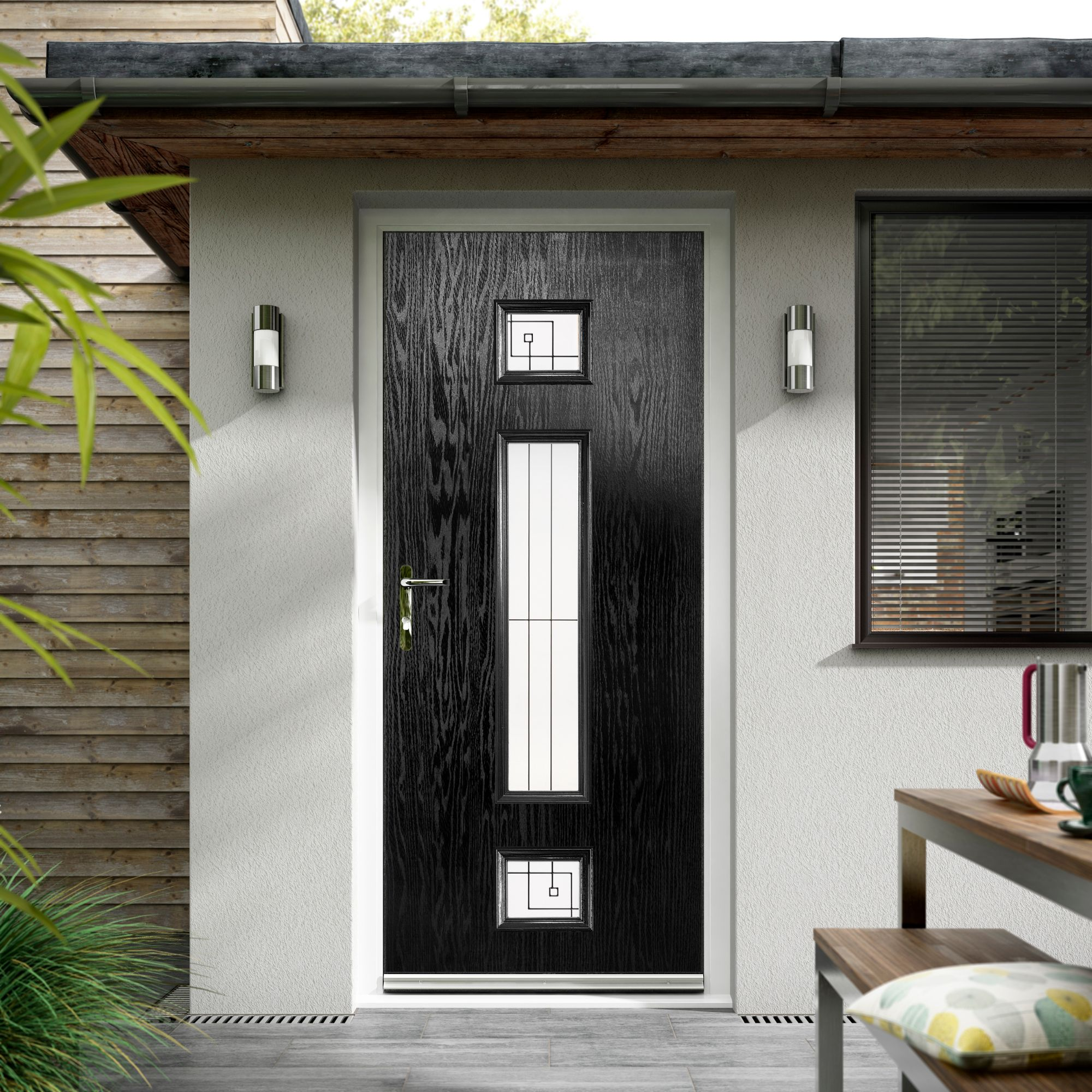 Black Composite Entrance Doors Hampshire