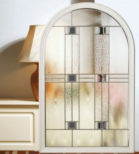 Composite Door Glazing aspen