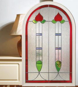Composite Door Glazing Edwardian
