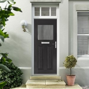 Black Composite Doors Hampshire