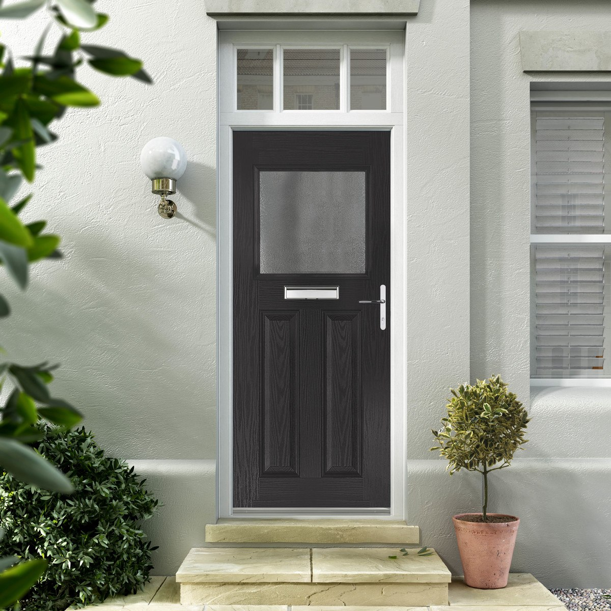 Black Composite Doors Hampshire
