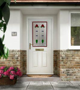White Composite Doors Hampshire