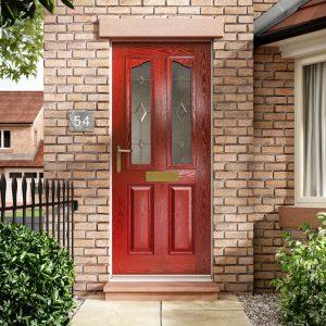 composite doors in red hampshire