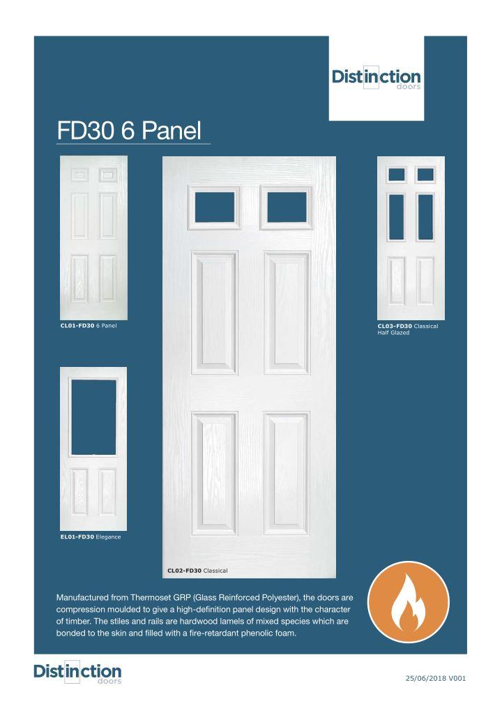Classical Doors Datasheet