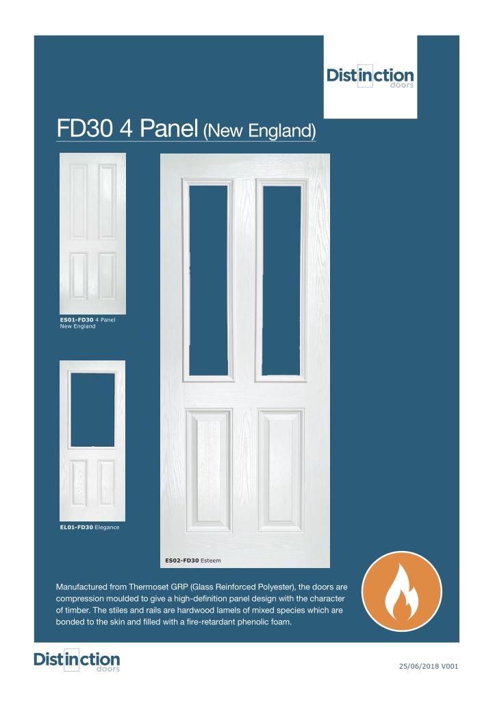 FD30 New England Datasheet