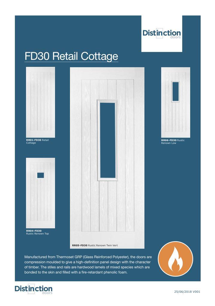 FD30 Retail Cottage Datasheet