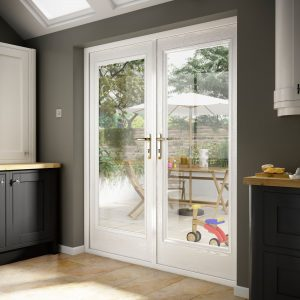 White Composite Door Prices Hampshire