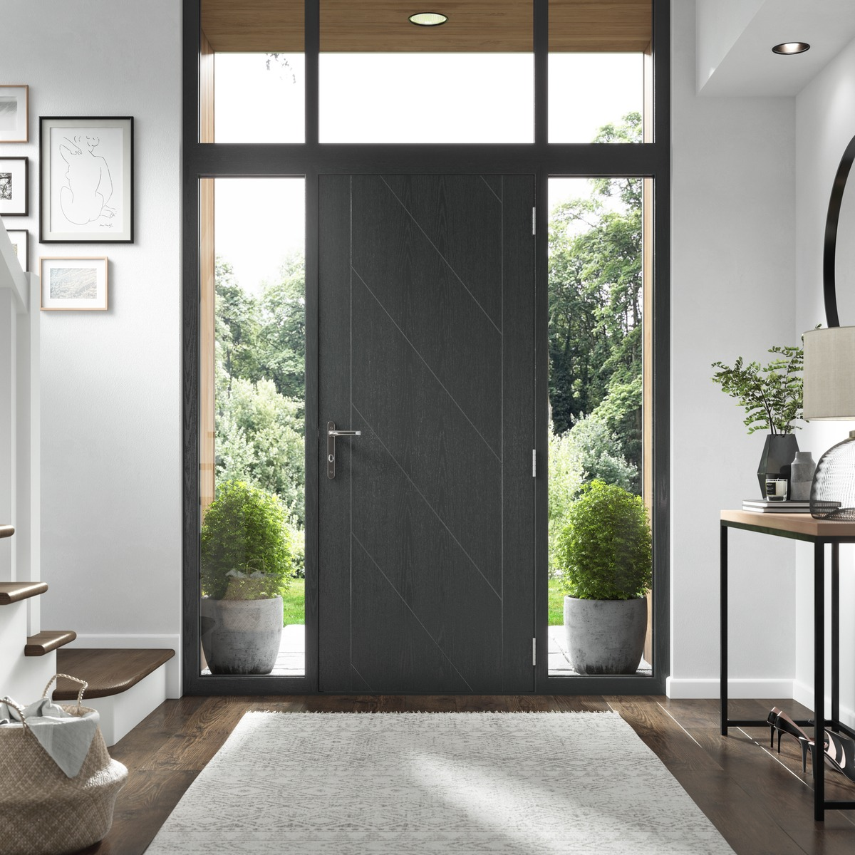 Modern Composite Front Doors Hampshire