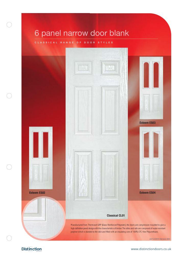 Narrow Door Datasheet