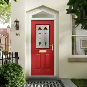 Red front doors hampshire