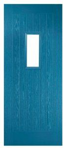 Traditional Blue Composite Doors Fareham