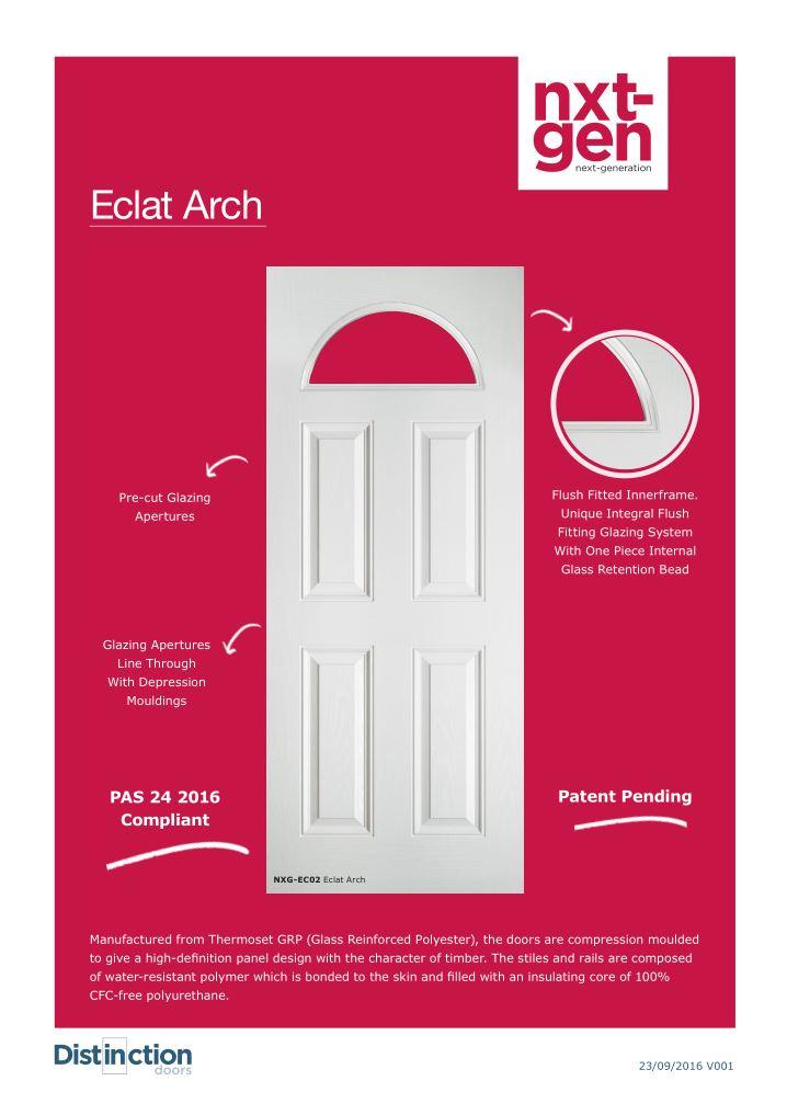 Eclat Arch Datasheet