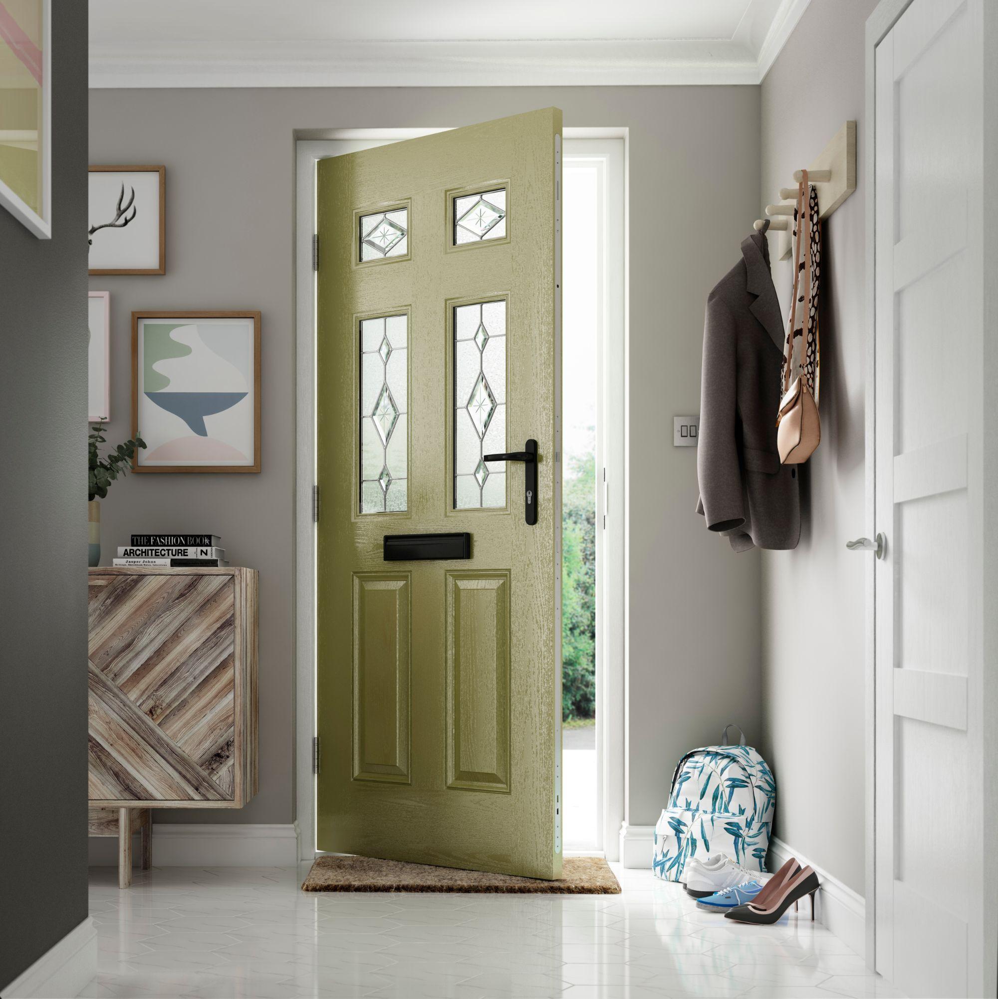 Composite Entrance Doors Locks Heath