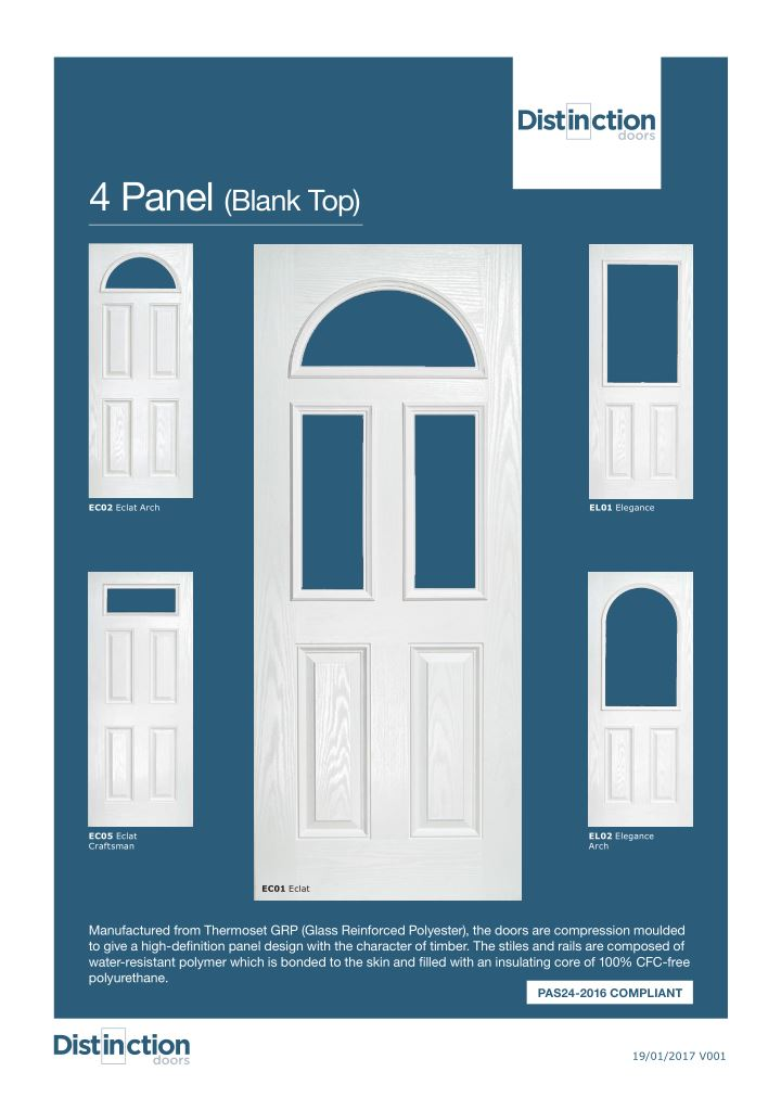 4 Panel Datasheet