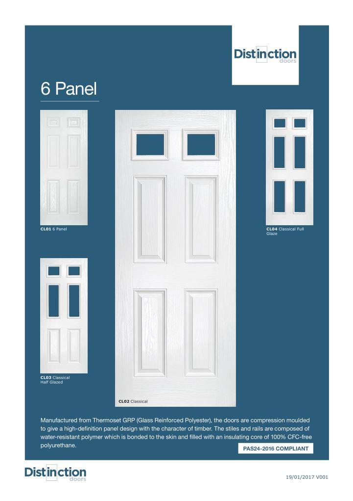 Compliant 6 Panel Datasheet