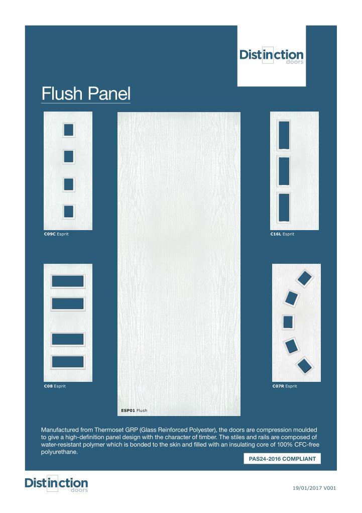 Flush Panel Datasheet