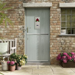 Duck egg blue composite doors hampshire