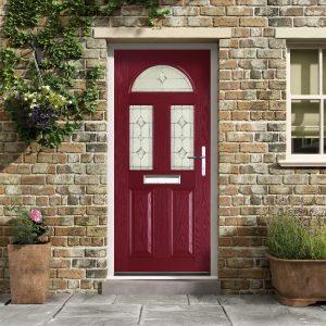 red composite doors hampshire