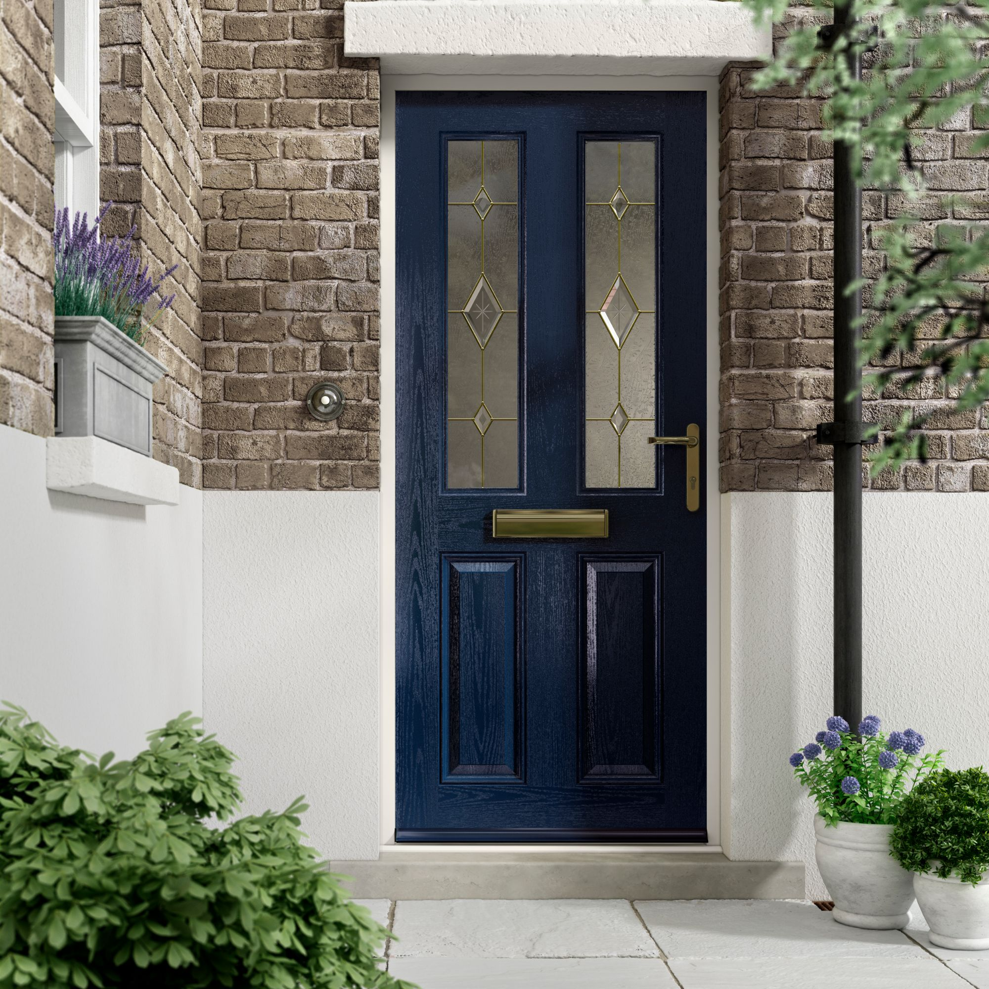 Composite door hardware Fareham