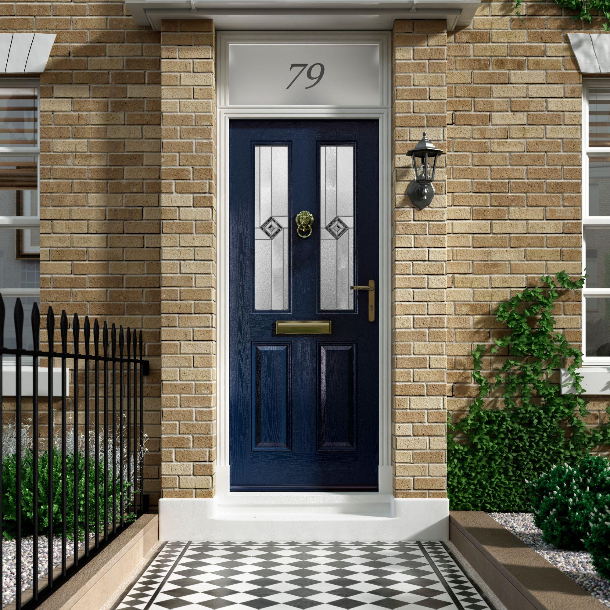 dark blue composite doors hampshire
