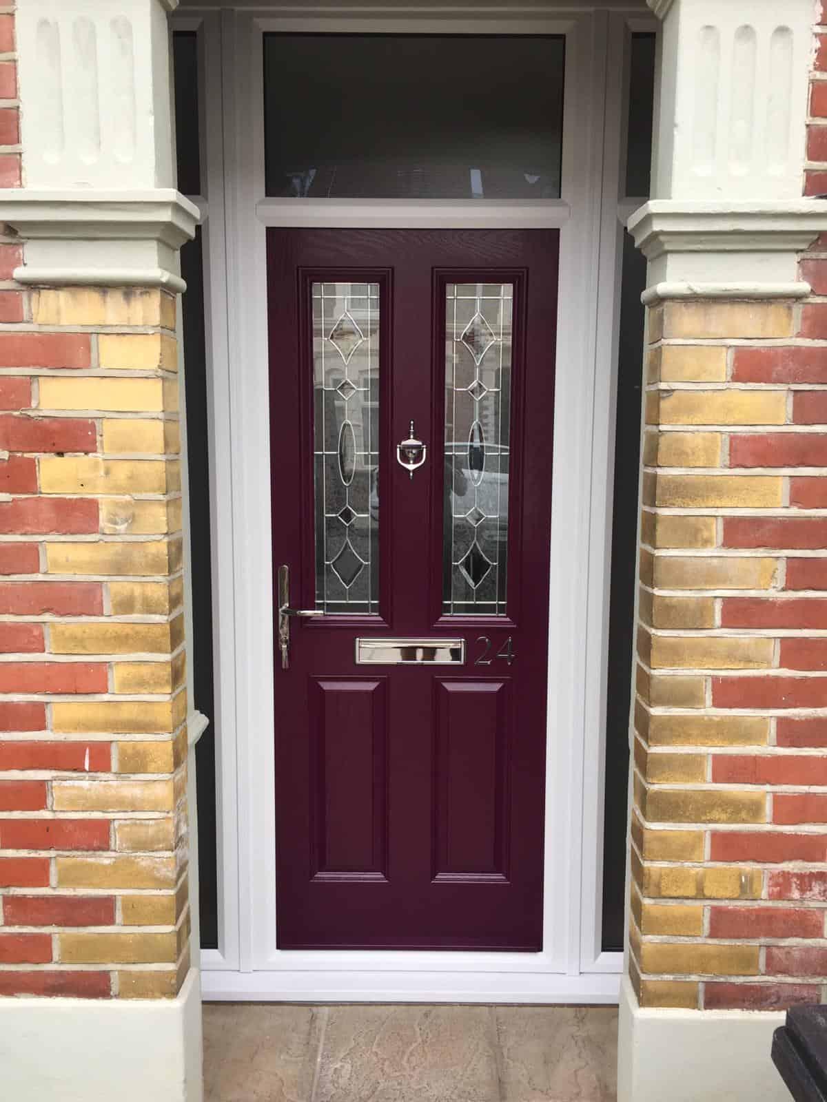 composite door cost Shawford