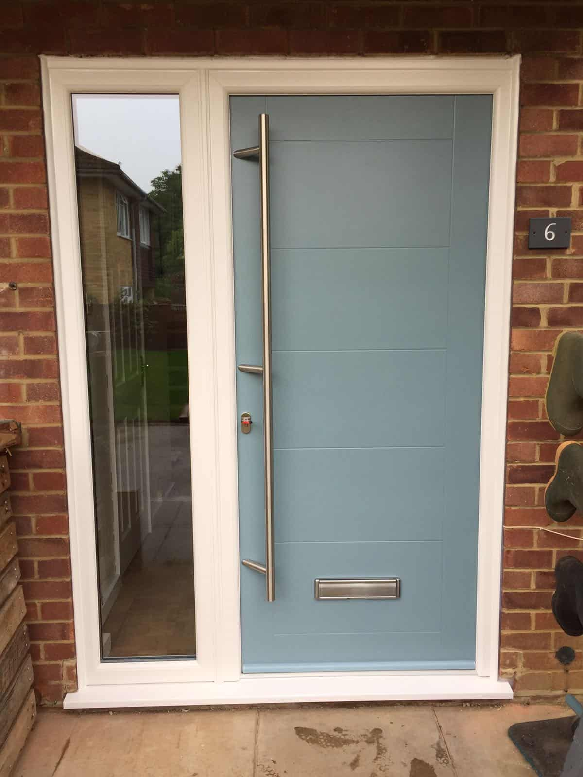 composite doors cost Shawford