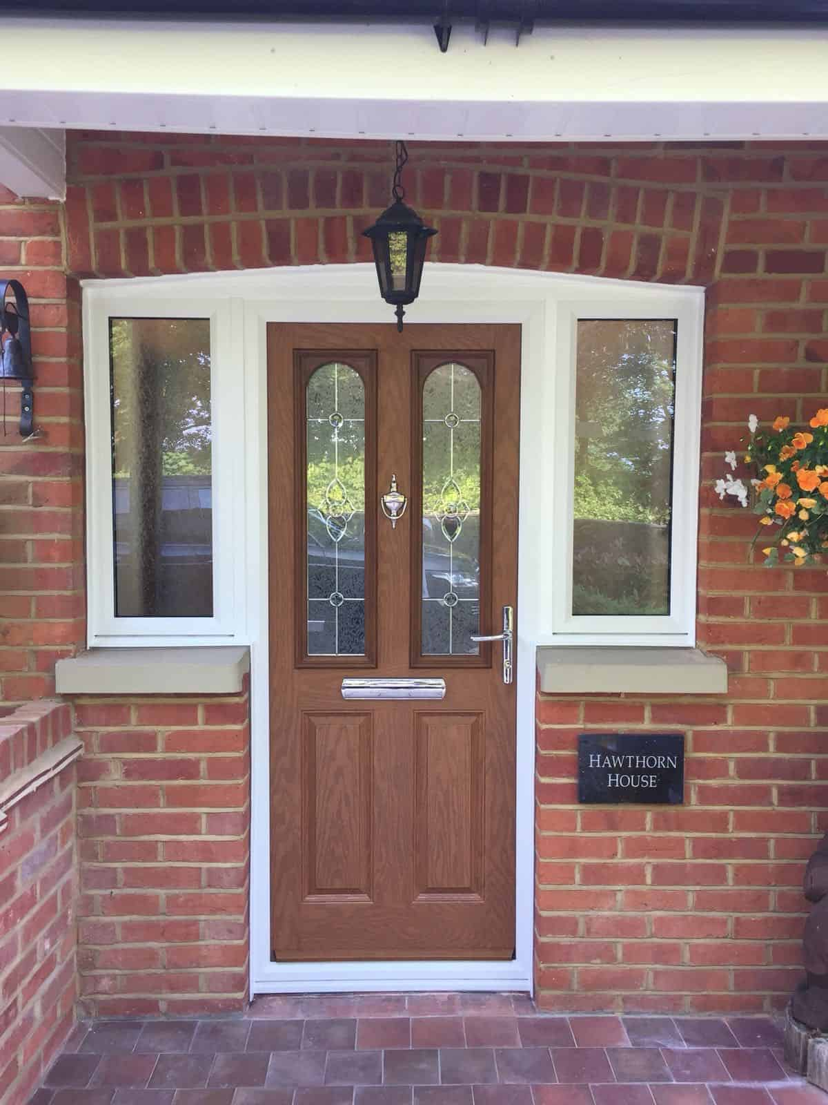 Composite Doors cost Horton Heath