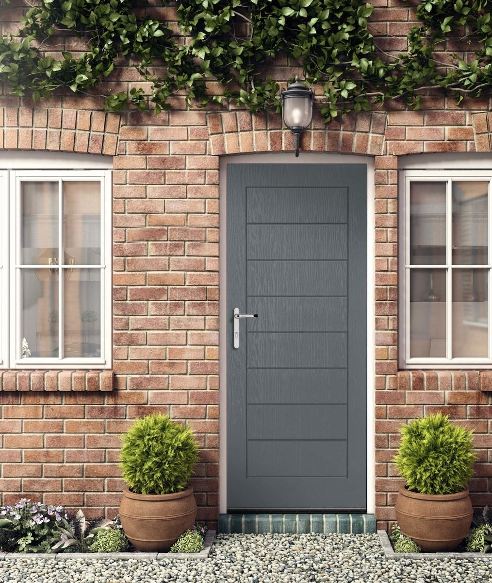 Grey Composite Doors