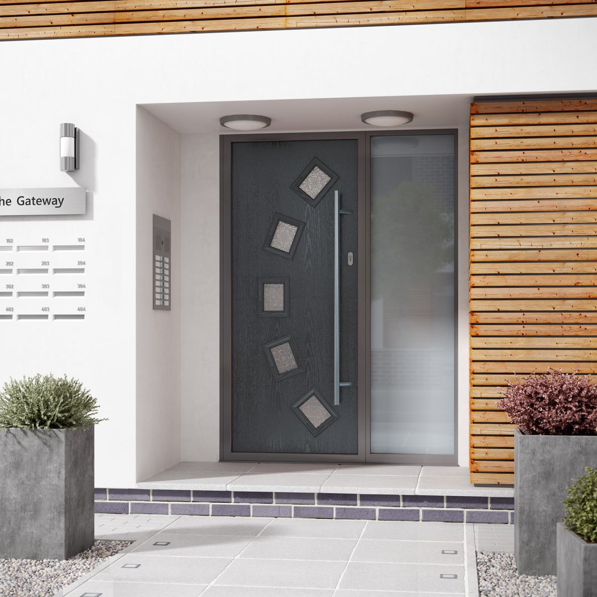 how much does a composite door cost